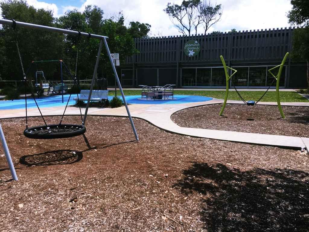 Basket swing, Peninsula Recreation Park, Umina