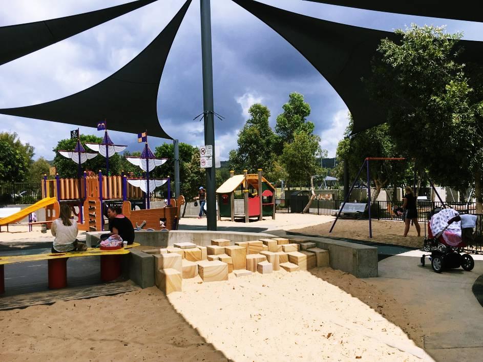 Toddler play area, Peninsula Recreation Park, Umina