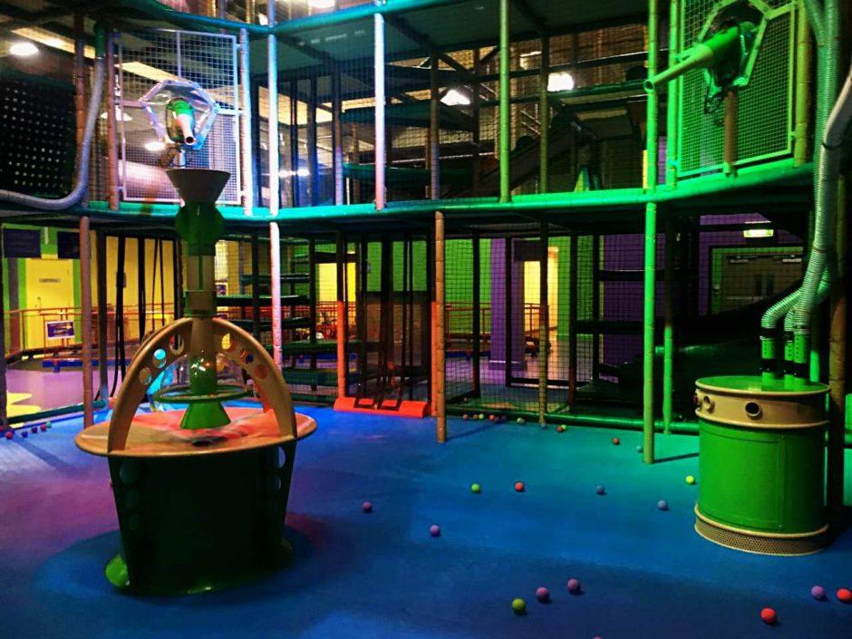 Ball pit, Monkey Mania Gosford