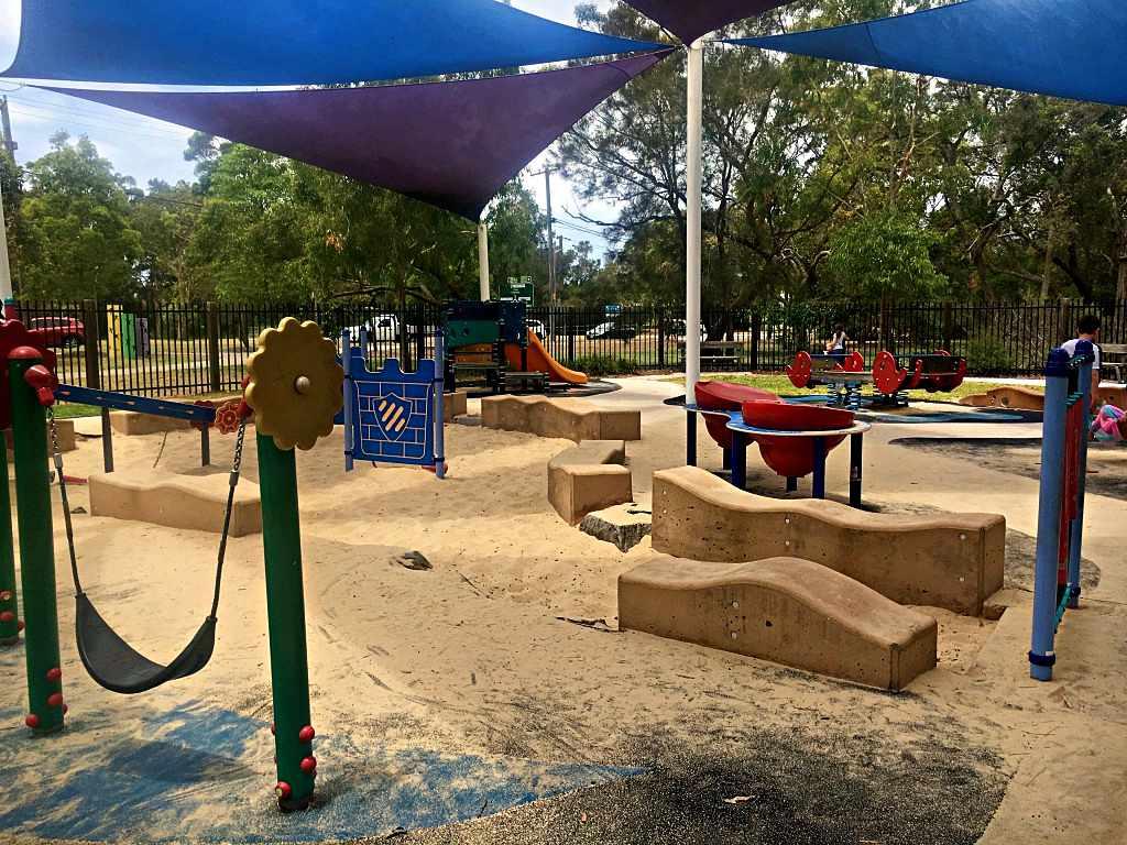 Sand pit, Liberty Park, Long Jetty