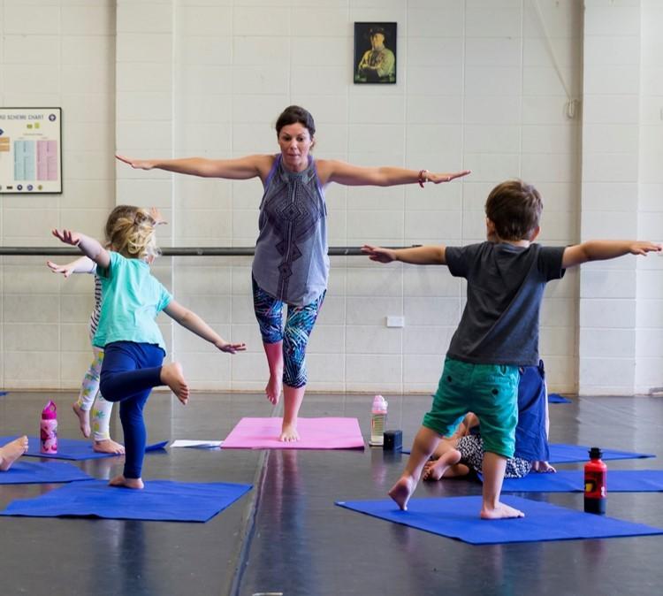 Kids classes at Bearfoot Bubs Yoga