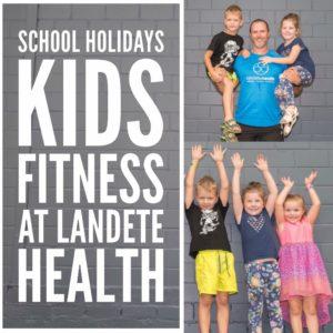 Landete School Holidays Kids Fitness at Erina