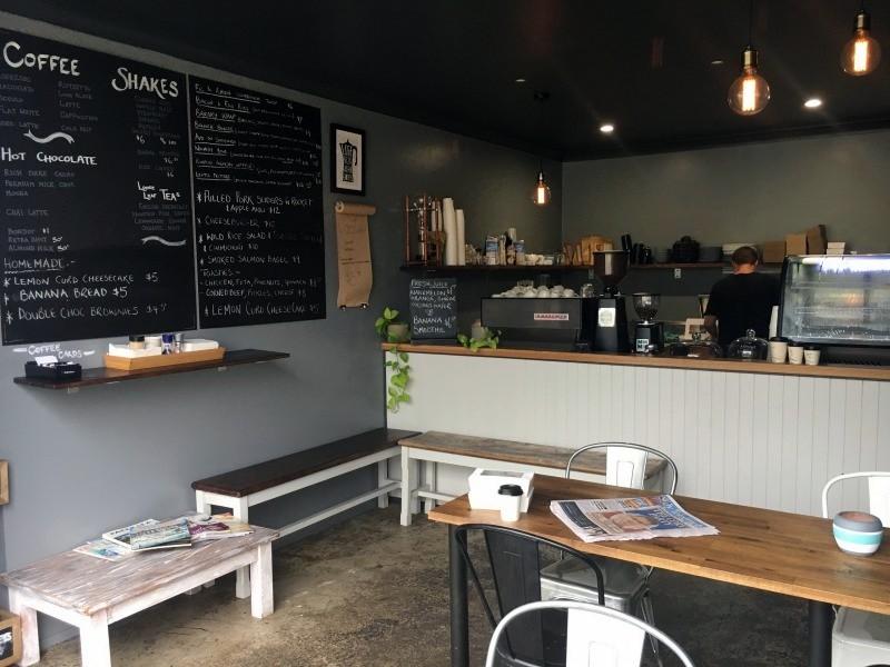 The Rollerdoor Espresso Bar, Erina