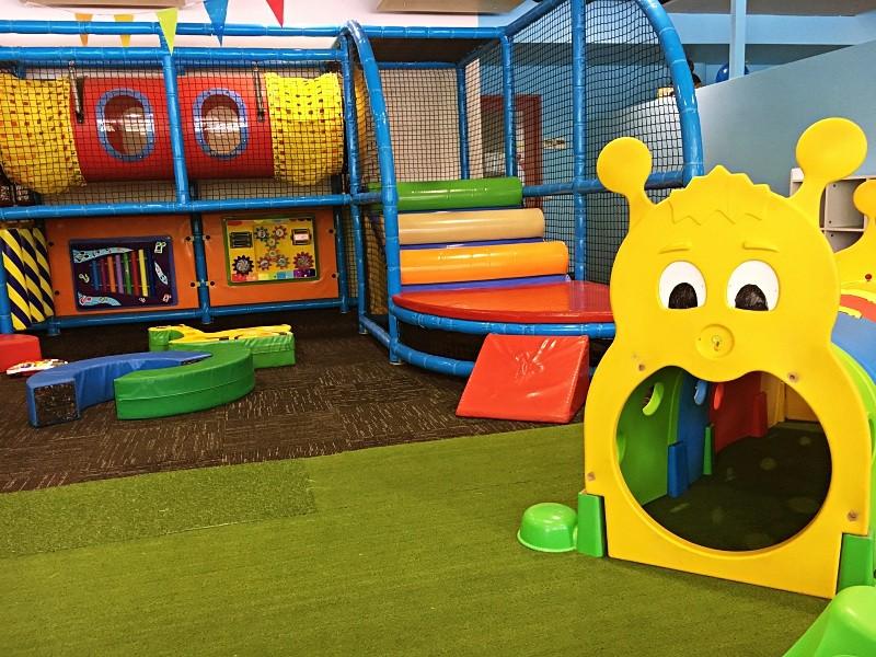 Baby area at Kidsworld Play Centre at Impact Erina