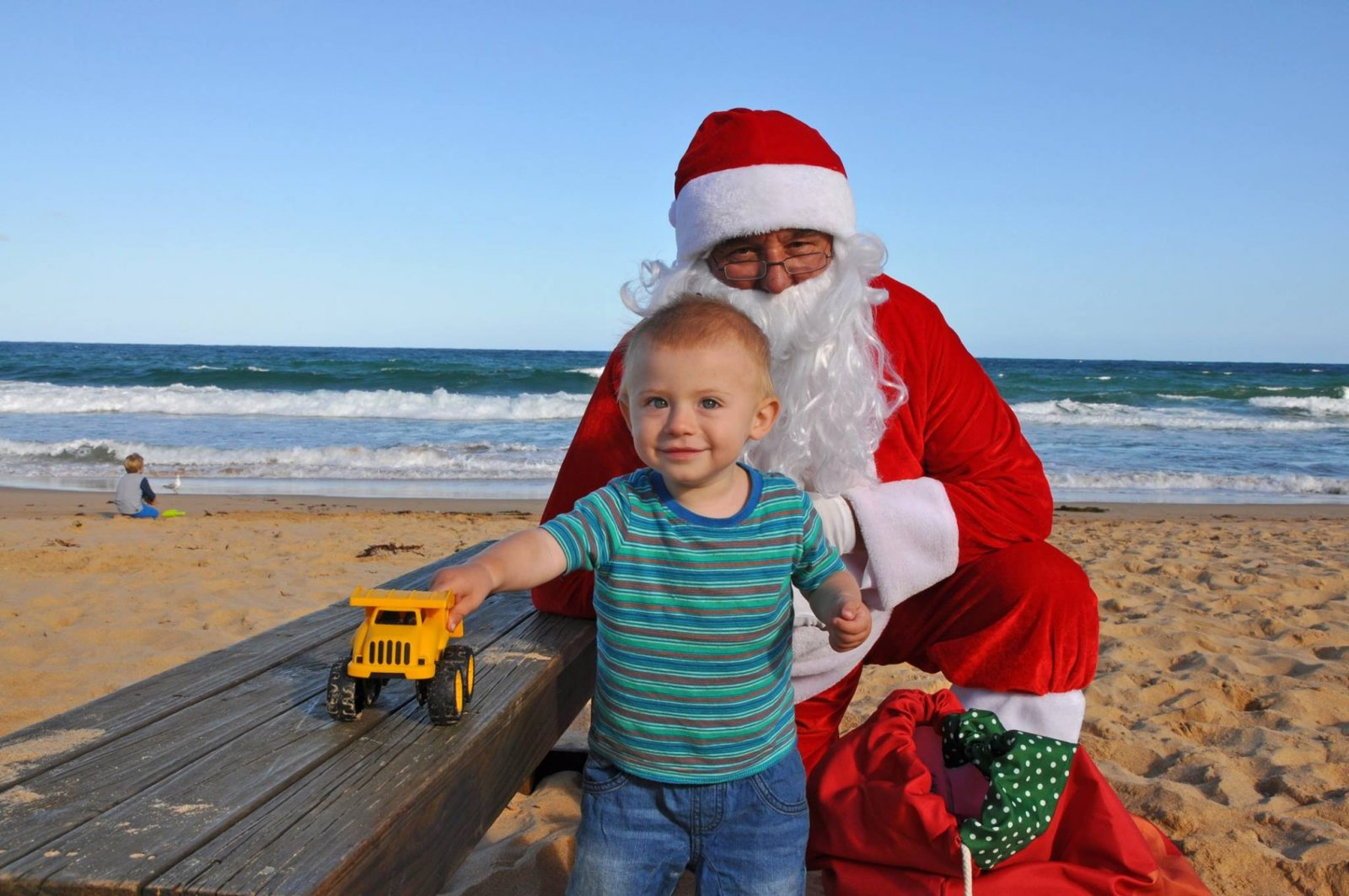Brilliant Santa on the Beach | Shelly Beach Central Coast