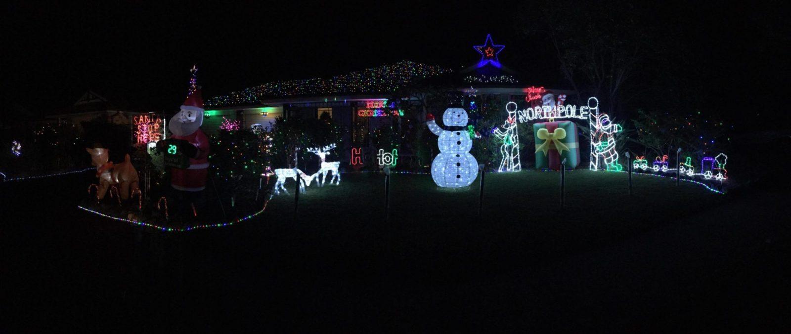 Christmas Lights in Mardi