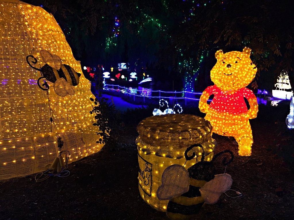 Winnie The Pooh Christmas Lights