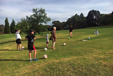 FootGolf Fun at Mangrove Mountain Memorial Club and Golf Course