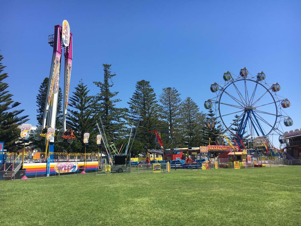 The Entrance Carnival, Memorial Park