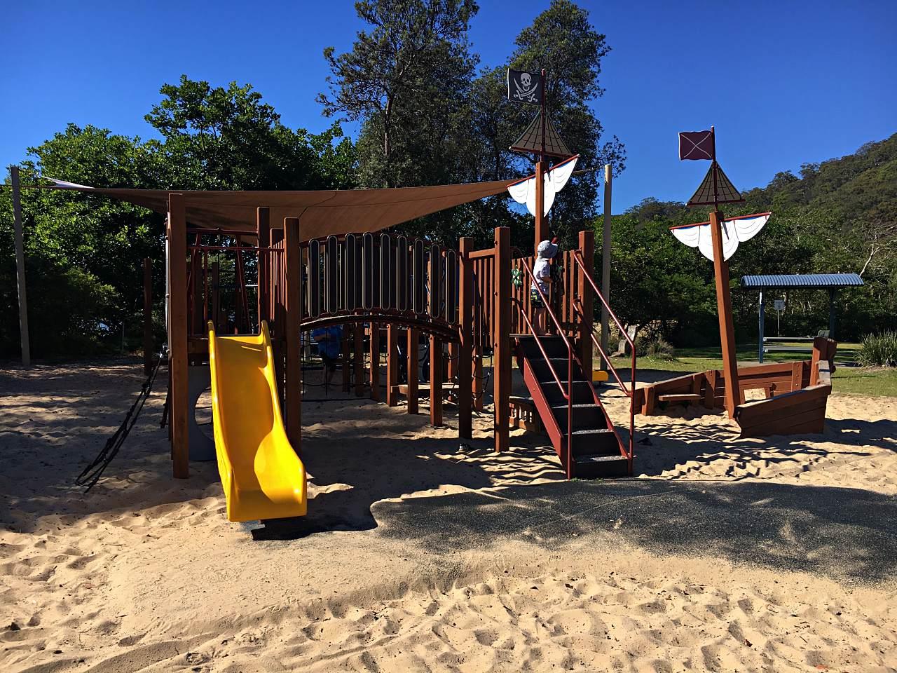 Patonga Playground at the Camping Ground