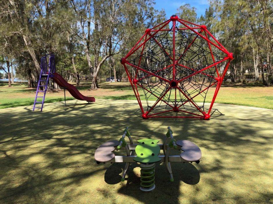Playground at Sunshine Reserve, Chittaway