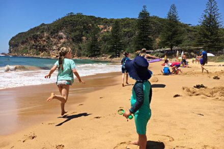 Summer at Macmasters Beach