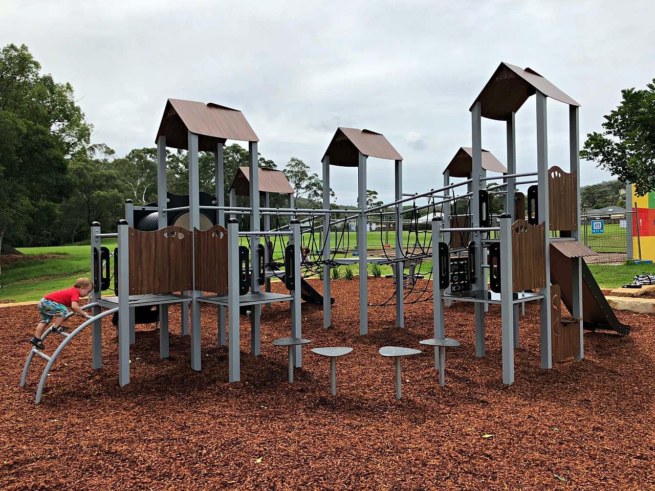 Alan Davidson playground at Wyoming
