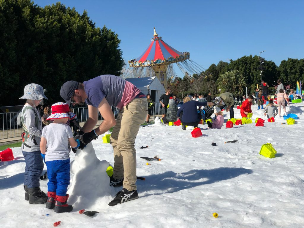 Snow Time at Hunter Valley Gardens 2019 43 - Hunter Valley Gardens Winter Wonderland 2019