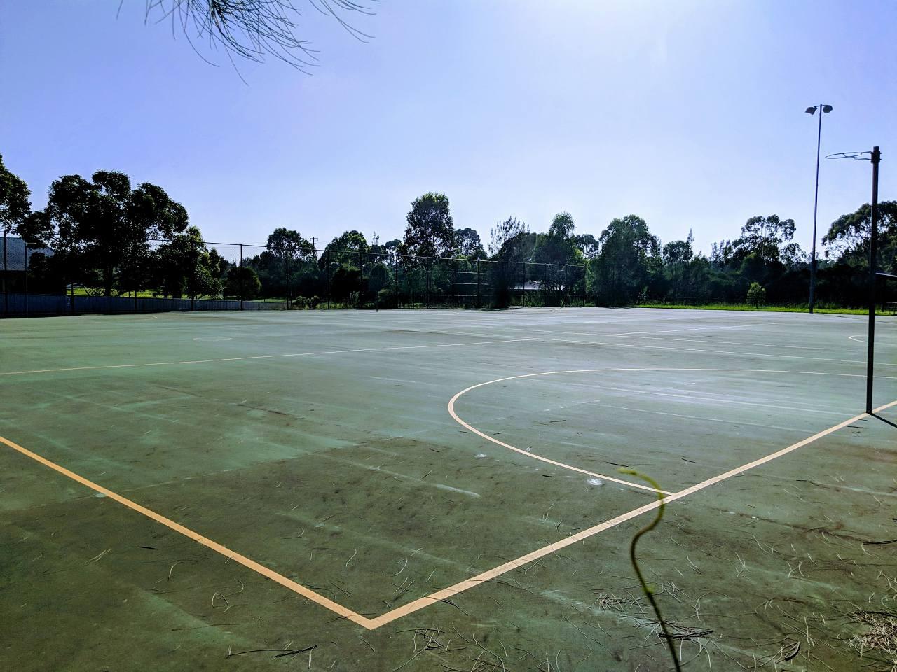 Basketball Hoops at Hamlyn Terrace