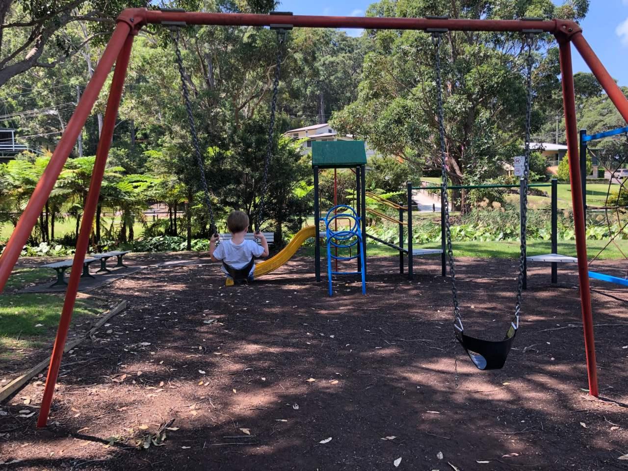 Seabrook Reserve playground, Tascott