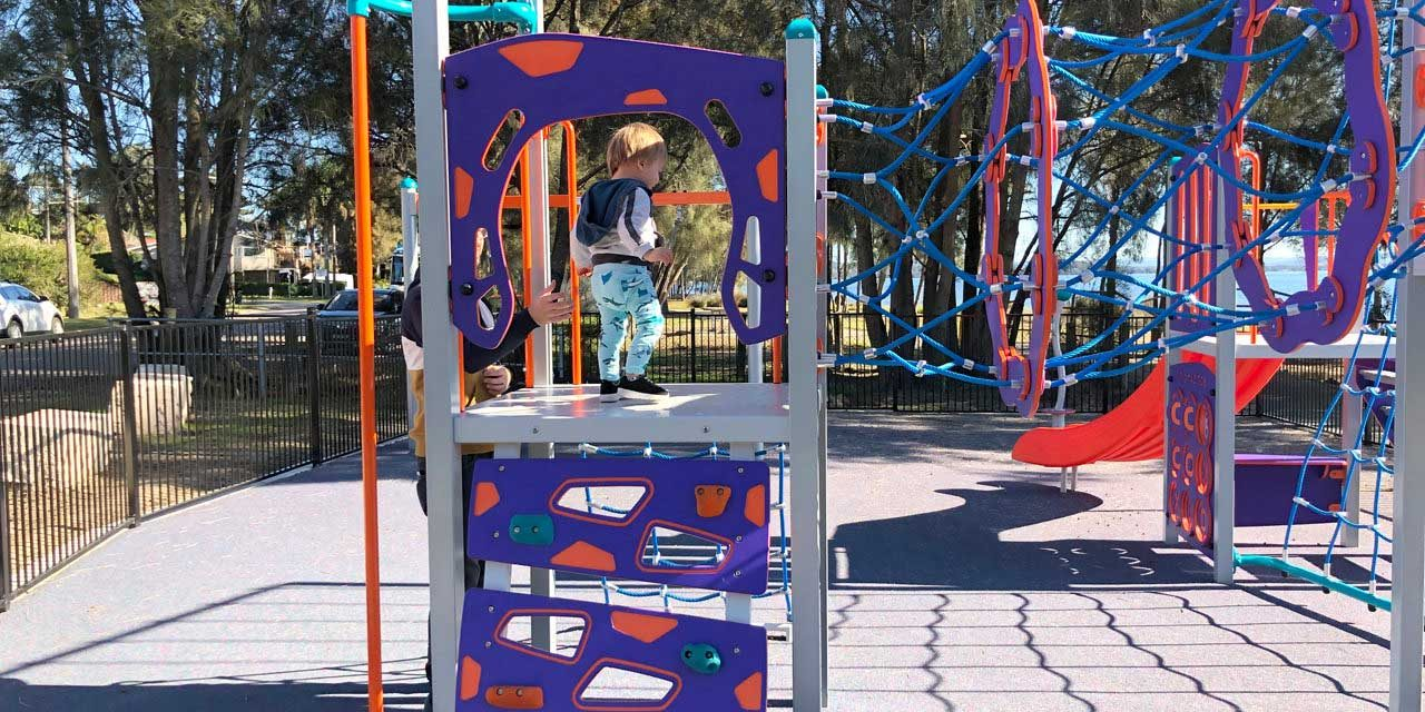 New Playground at Killarney Vale Foreshore