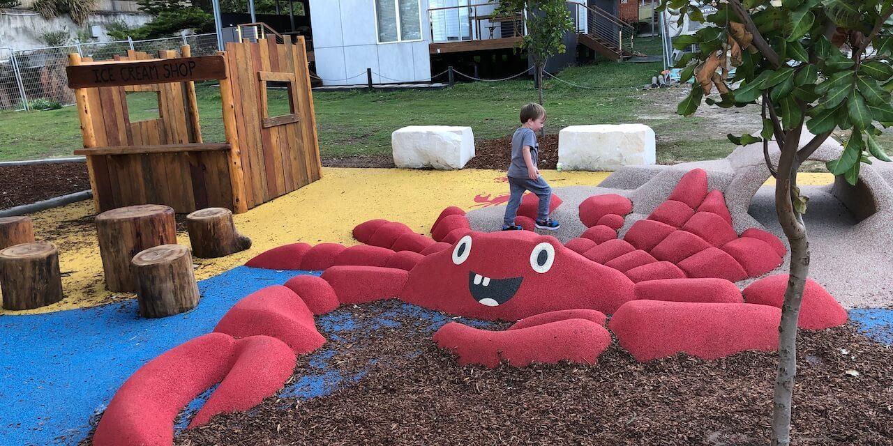 NEW playground at Macmasters Beach