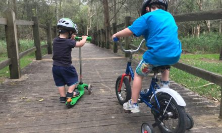 The Coast's Best Bike Paths and Scooter Tracks for Kids