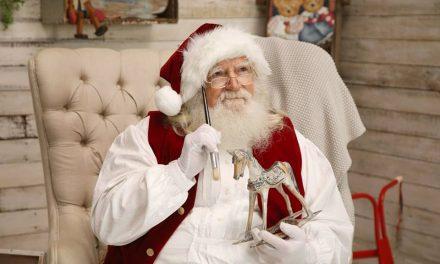 Santa Photos on the Central Coast