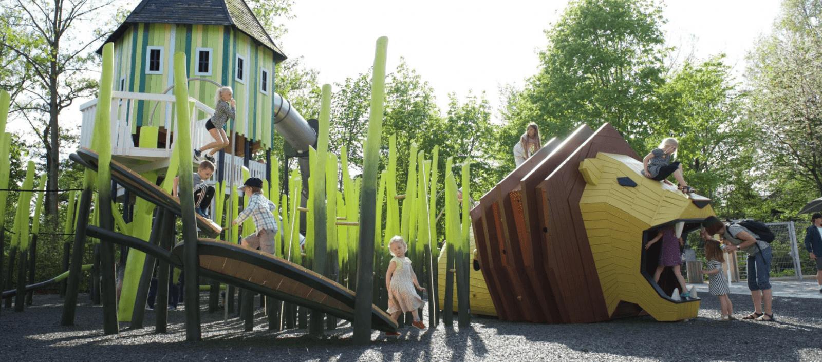 Monstrum playground in Odense, Denmark. Image ©Monstrum.
