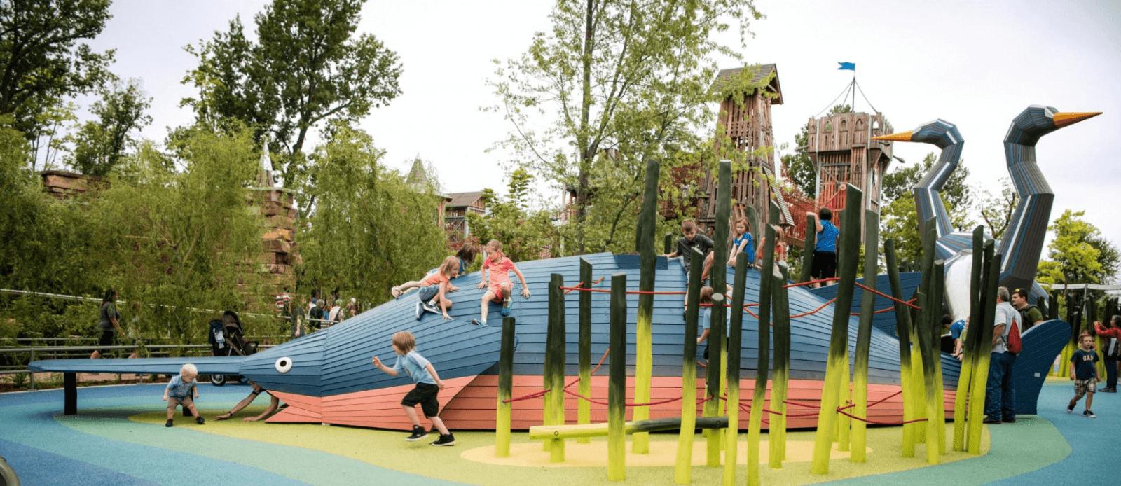 Monstrum playground in Oklahoma, USA. Image ©Monstrum.