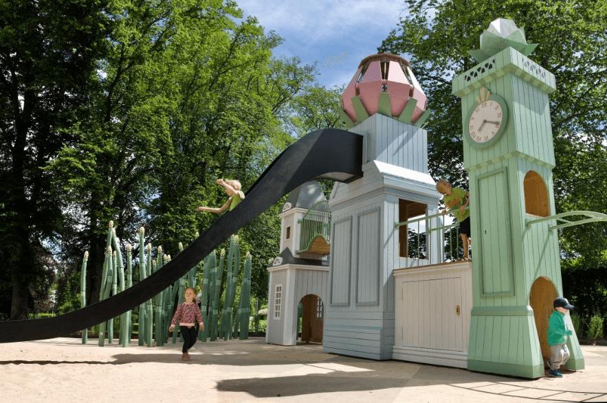 Monstrum playground in Växjö, Sweden. Image ©Monstrum.