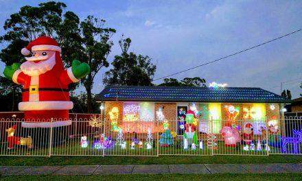 Central Coast Christmas Lights Map