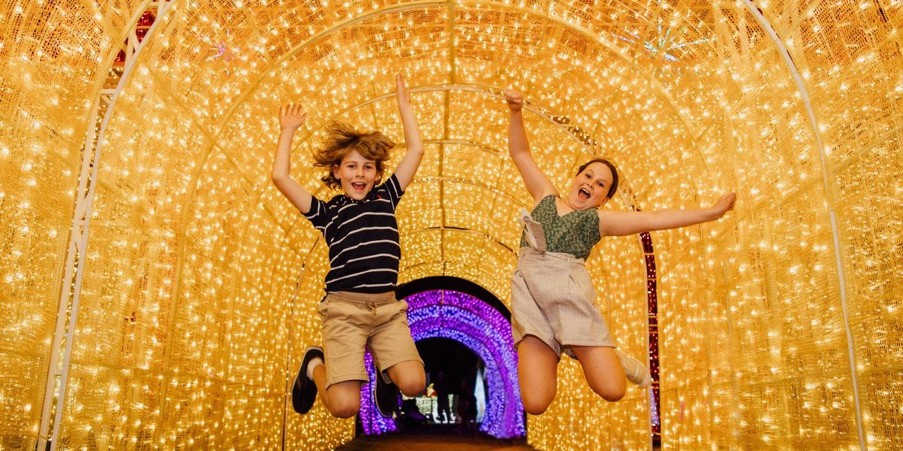 The Christmas Lights Spectacular has Returned to the Hunter Valley Gardens Bigger and Brighter Than Ever!