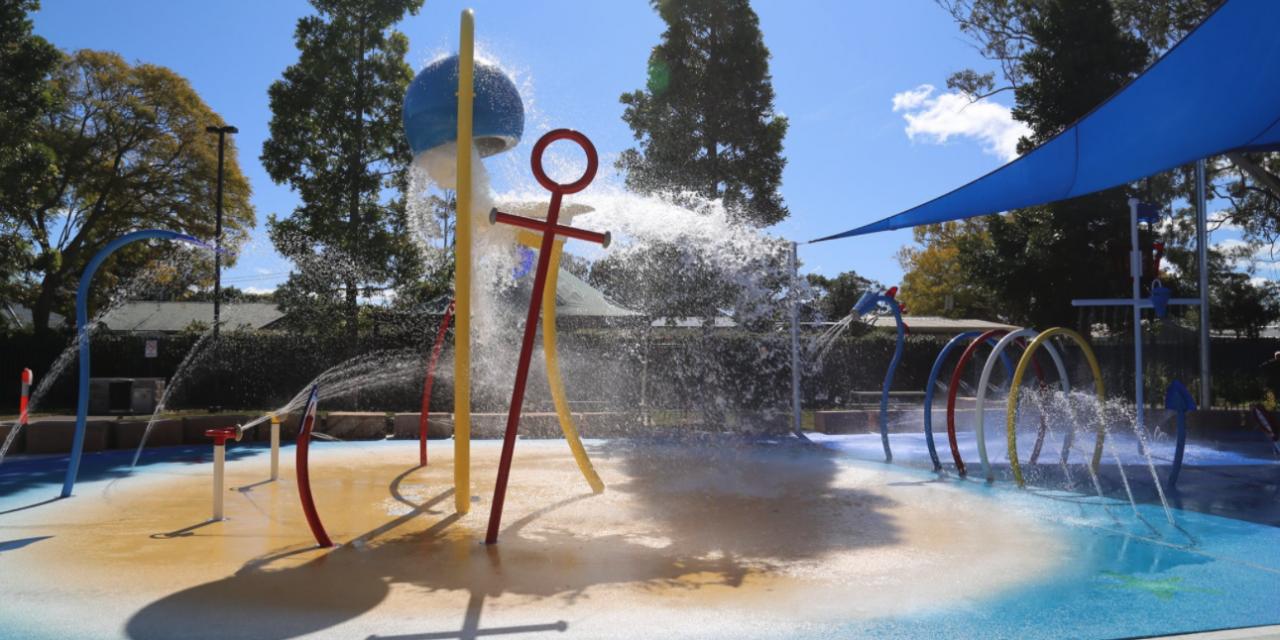 "The New Water ""Splash Park"" in Woy Woy is Open!"