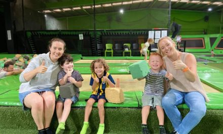 Have a Flippin' Great Time at Flip Out Trampoline Park in Gosford