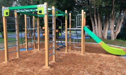 New Playground at Gavenlock Oval, Narara