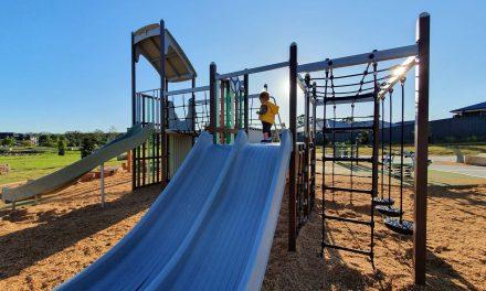 NEW Playground on Johns Road, Wadalba