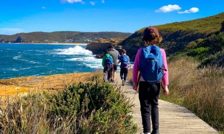 Pack your sunglasses and sense of adventure for this stunning coastal walk