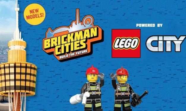 Don't miss Brickman Cities at Sydney Tower Eye!