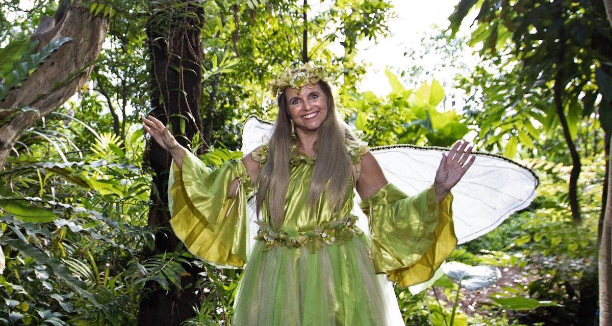 Go on a fairy adventure in the Royal Botanic Garden Sydney