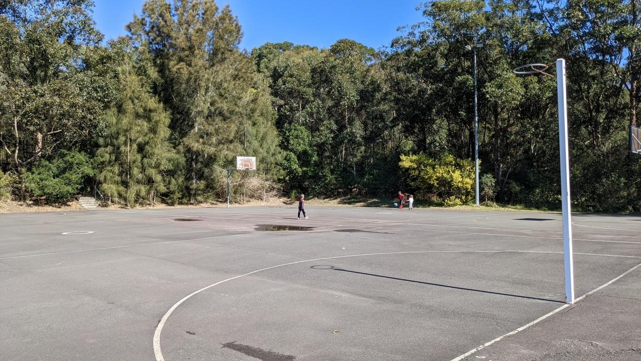 Mackillop Oval Kincumber Basketball and Netball Courts