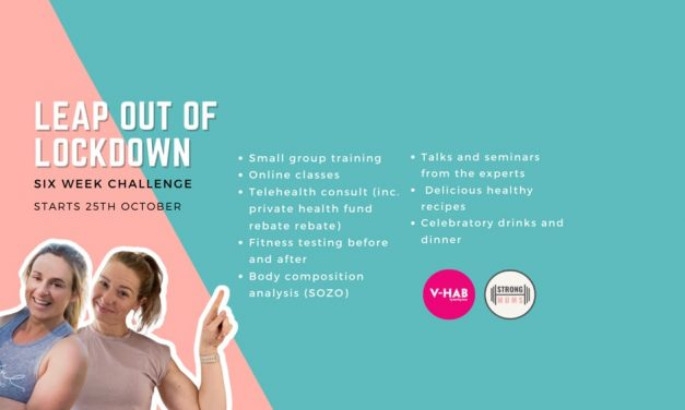 """Sign up for the Healthy Bumps and Strong Mums """"Leap Out of Lockdown"""" 6-Week Challenge!"""