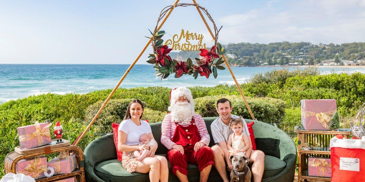 Santa Photos and Festive Photos on the Central Coast