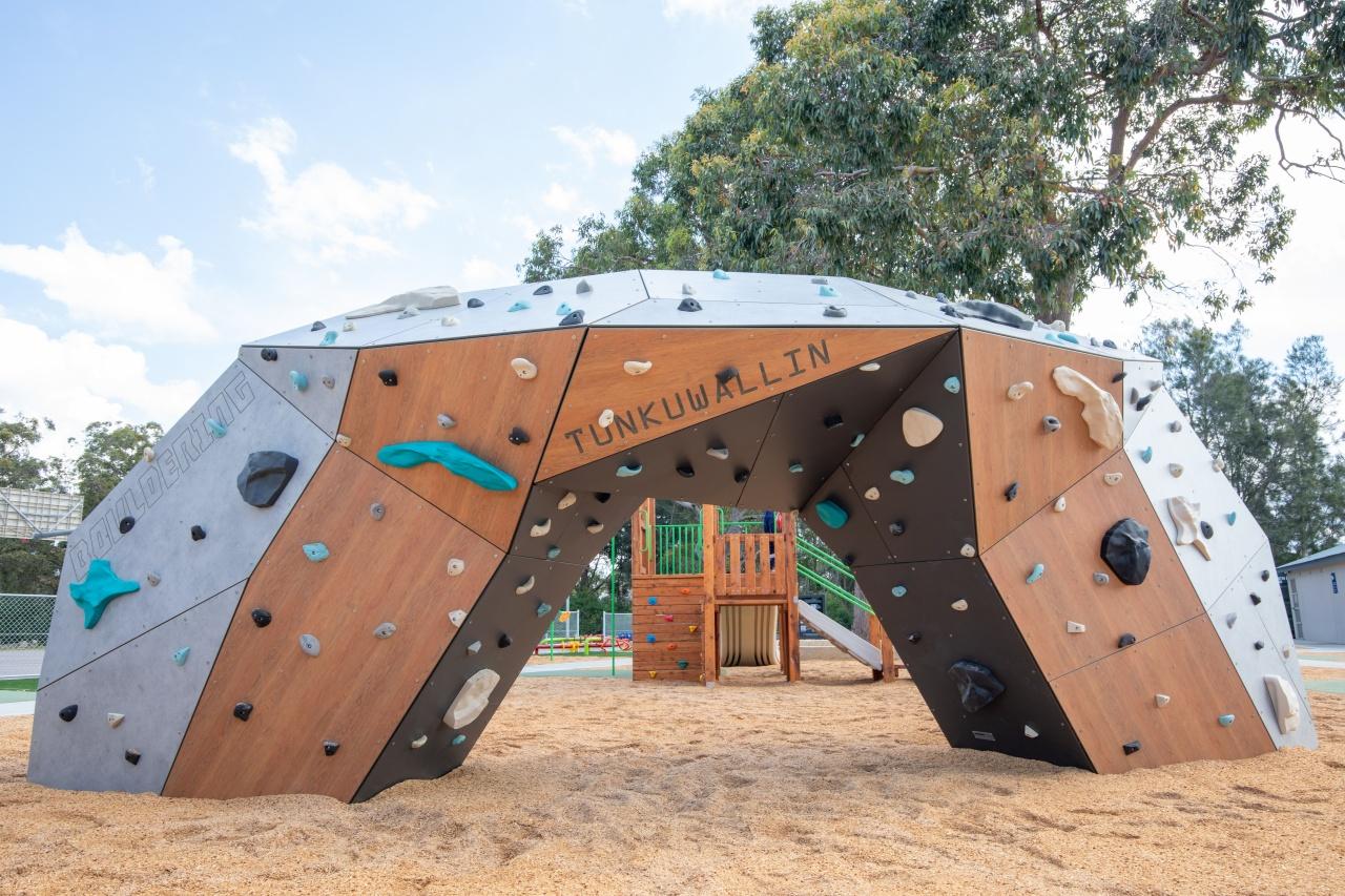 Tunkuwallin Oval Gwandalan Bouldering Wall